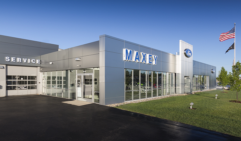 Bob Maxey Ford >> Projects Rand Construction